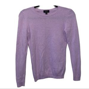 XS Cashmere Charter Club Luxury Lavender Sweater